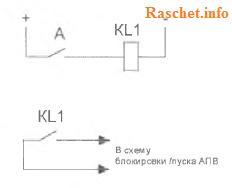 Рис.1г - Оперативные цепи
