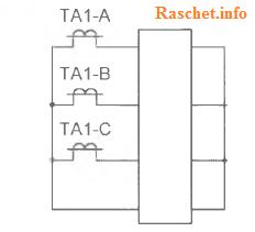 Рис.1в - Токовые цепи