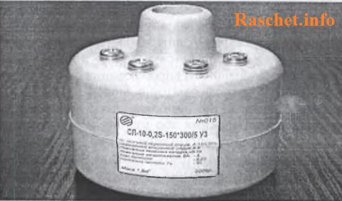 Рис. 2. Общий вид ТТ на напряжение 10 кВ