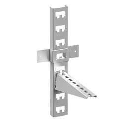 Динамический блок кабельной стойки и полки в формате dwg