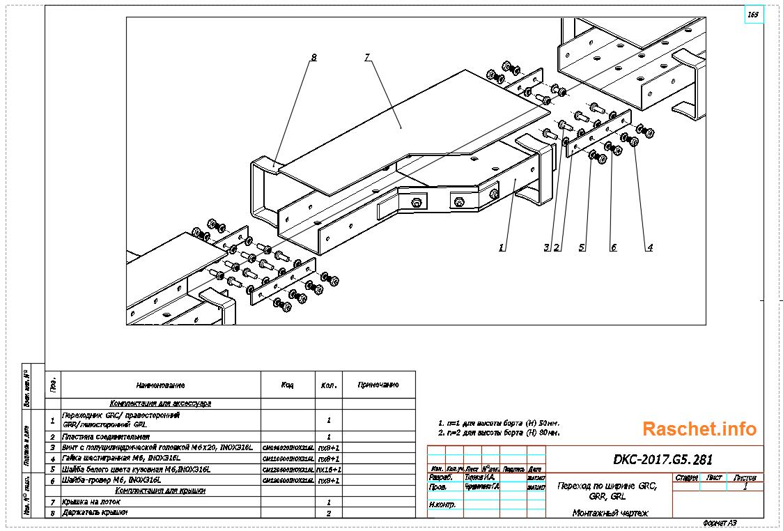 Система G5 - Combitech - стеклопластиковые лотки