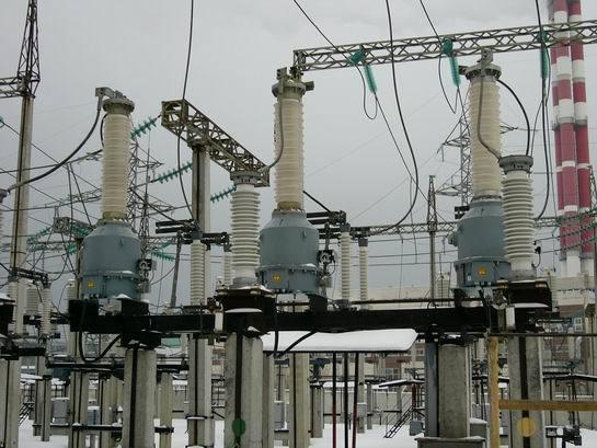 Трансформатор напряжения ЗНОГ-110 У1 на подстанции