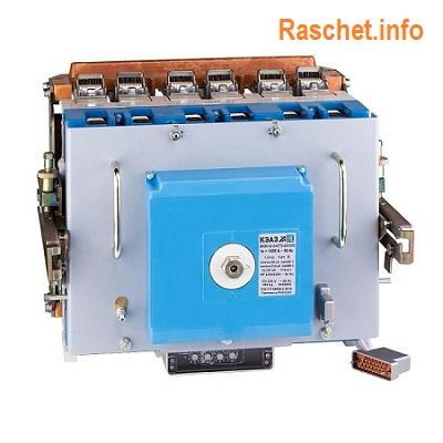 Выключатель типа ВА55-43 344770-20УХЛ3