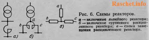 Рис.6 - Схемы реакторов