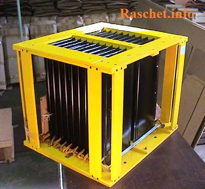 Резисторы типа РЗ для установки в ячейках РУ