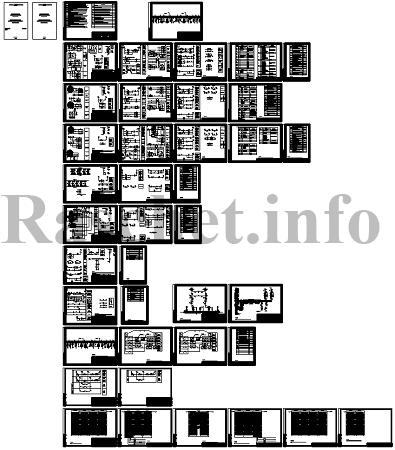 Проект ЗРУ-10 кВ. Схемы РЗиА в формате dwg