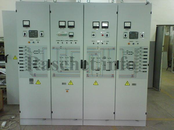 Щит постоянного тока распределительной подстанции 110/10 кВ