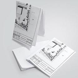 Складывание чертежей по ГОСТ 2.501-2013
