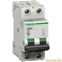 Выбор автоматического выключателя IC60N фирмы «Schneider Electric»