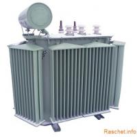 Выбор мощности трансформатора собственных нужд 6(10)/0,4 кВ