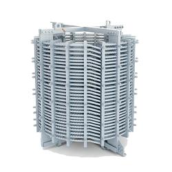 Чертеж подвески ВЧ-заградителя типа ВЗ-1250-0.5 У1 в формате DWG