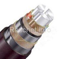 Пример выбора сечения кабеля на напряжение 10 кВ