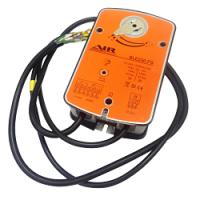 Подключение реверсивного привода типа BLE 230 клапана дымоудаления в формате dwg