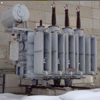 Установка силовых трансформаторов типа ТДН-16000/110/10 в формате dwg