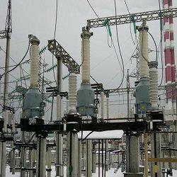 Чертеж установки трансформаторов напряжения 110 кВ типа ЗНОГ-110 У1 в формате dwg