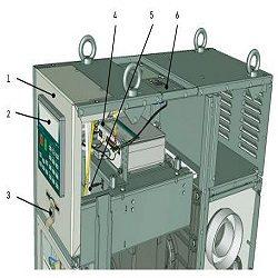 Схема клапанной дуговой защиты в КРУ 6(10) кВ