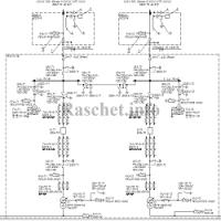 Схема №110-4Н в формате dwg