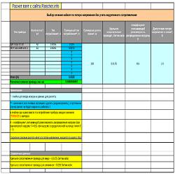 Программа расчета сечения кабеля для пожарной сигнализации