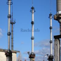 Чертеж установки разрядников РВС-110М У1 в формате dwg