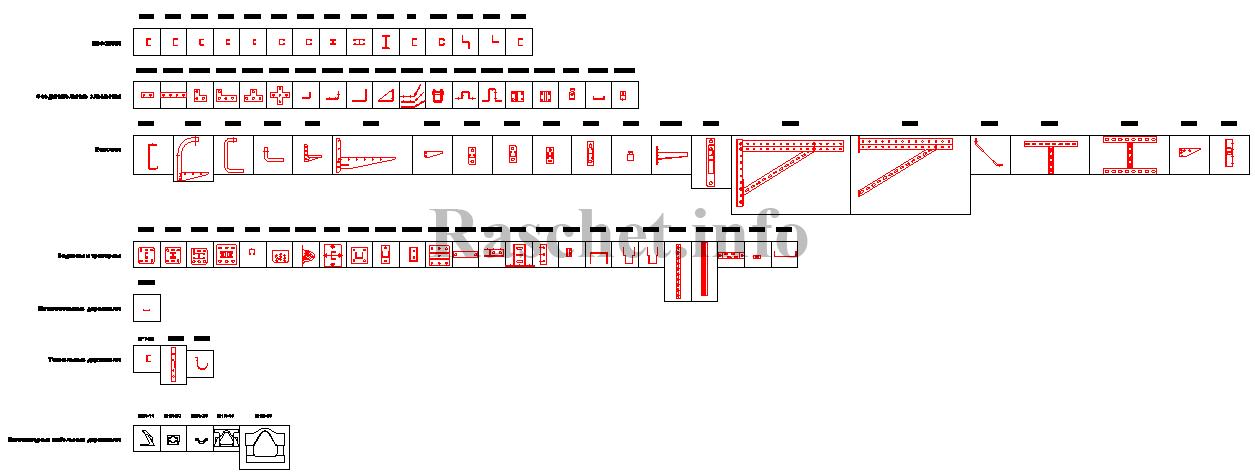 Универсальная система монтажных элементов B5 — Combitech