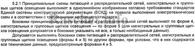 ГОСТ 21.608-2014 пункт 5.2.1