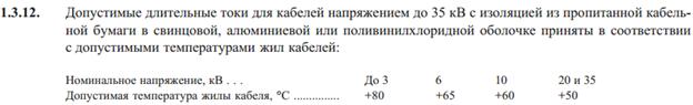ПУЭ 7-издание пункт 1.3.12