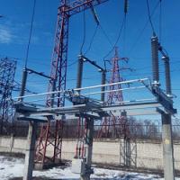 Чертежи установки разъединителей РДЗ.2(1)-110Б/1000