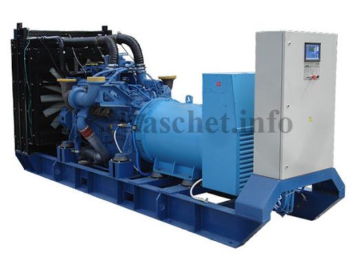 дизель генератора типа ADM-2700 (Mitsubishi)