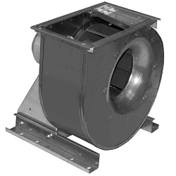Схемы управления приточными вентиляторами и клапаном КЛОП-1