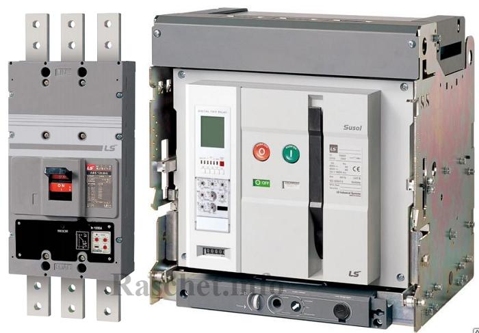 Автоматические выключатели ABS1203b и AS-20E3