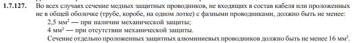 ПУЭ 7-изд. 1.7.127